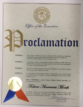 Fathers Awareness Month Proclamation