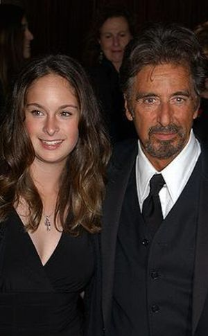 PIX FATHERS AND FAM AL PACINO AND DAUGHTER
